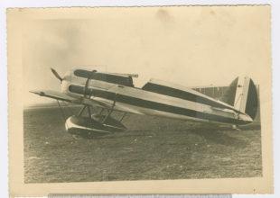 Miniatura per l'articolo intitolato:La foto del Travel Air Type R Mystery Ship comprato da Italo Balbo